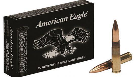 ammunition, federal american eagle, federal premium ammunition, federal american eagle suppressor