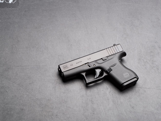glock, glock 43, GLOCK 43 9mm, glock pistol, glock pistols, glock handgun, glock handguns, glock 9mm, glock g43, glock 43 gun, glock 43 profile