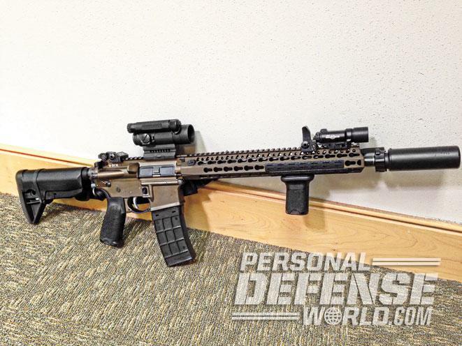home defense, home defense gun, home defense handgun, home defense rifle, BCM RECCE KMR