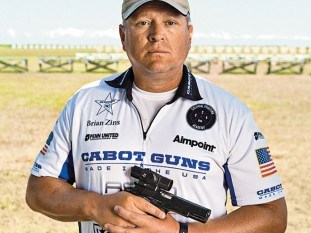 """brian zins, brian """"gunny"""" zins, competition shooting, competitive shooting, brian zins USMC, Brian Zins shooting"""