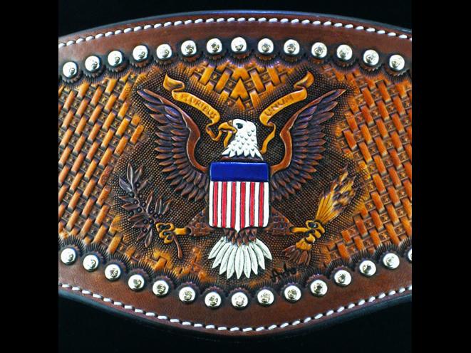 Slickbald Custom Holsters, slickbald, slickbald holsters, slickbald custom holster, slickbald holster, slickbald western holster, slickbald patriotic holster