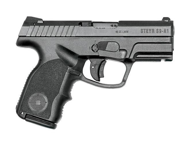 concealed carry, concealed carry gun, concealed carry guns, autopistol, autopistols, concealed carry autopistol, concealed carry autopistols, compact autopistol, compact autopistols, STEYR ARMS S-A1