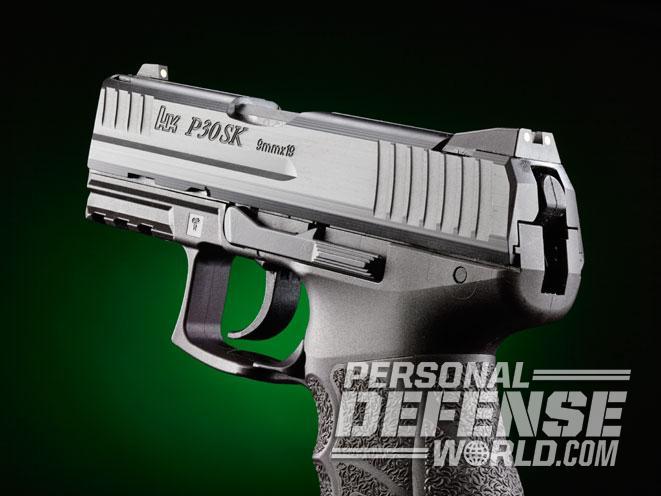 P30SK, heckler & koch P30SK, hk P30SK, P30SK pistol, P30SK 9mm, P30SK 9mm pistol, P30SK handgun, P30SK gun, heckler & koch, P30SK rear