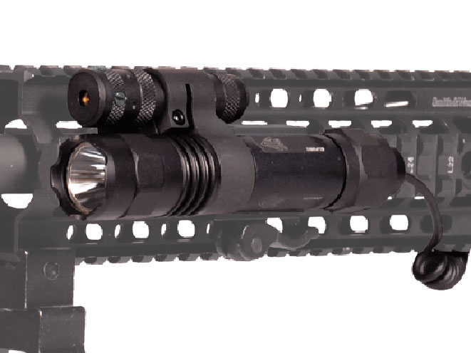 UTG, ELP38Q-A, UTG ELP38Q-A, ELP38Q-A flashlight, ELP38Q-A laser, ELP38Q-A leapers, red laser