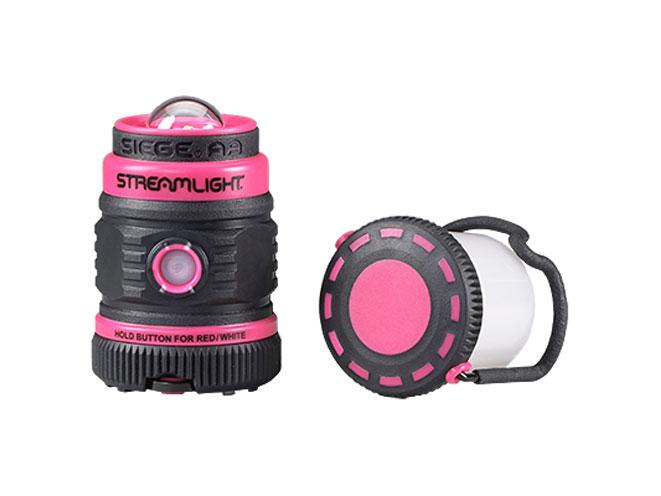 streamlight, Streamlight Siege AA, siege aa, siege aa pink, siege aa pink lantern, siege aa pink streamlight, streamlight siege