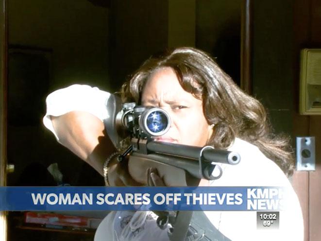 california, rifle, california woman rifle