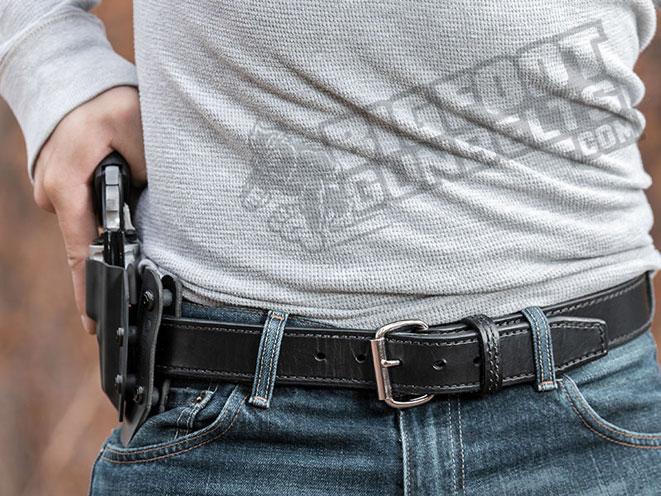 Bigfoot Gun Belts, gun belt, belt, gun belts, OWB holster belt