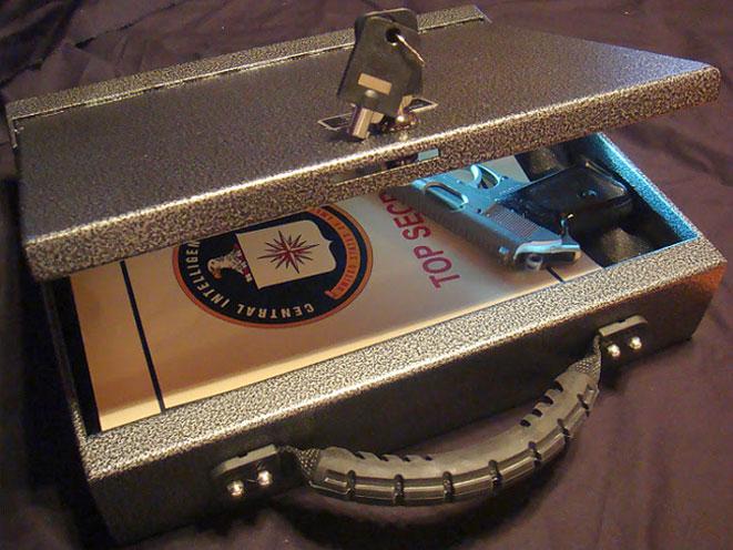 Console Vault Security Briefcase, console vault