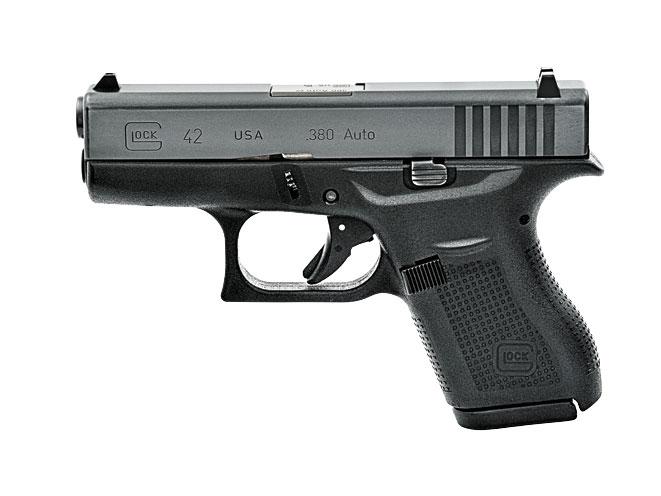 glock, glock 42, glock 42 handgun, glock 42 pistol