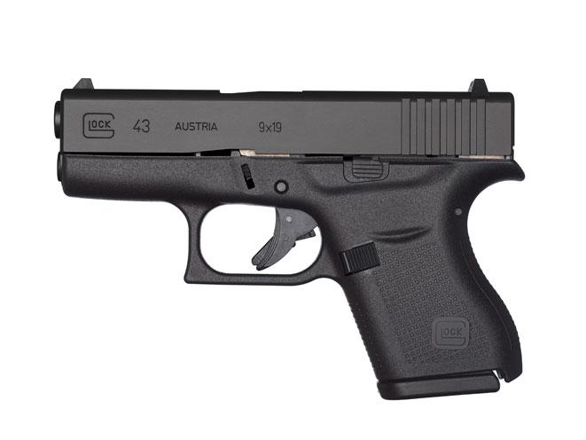 glock, glock pistols, glock pistol, glock handgun, glock handguns, glock 9mm, glock 9mm pistol, glock 43