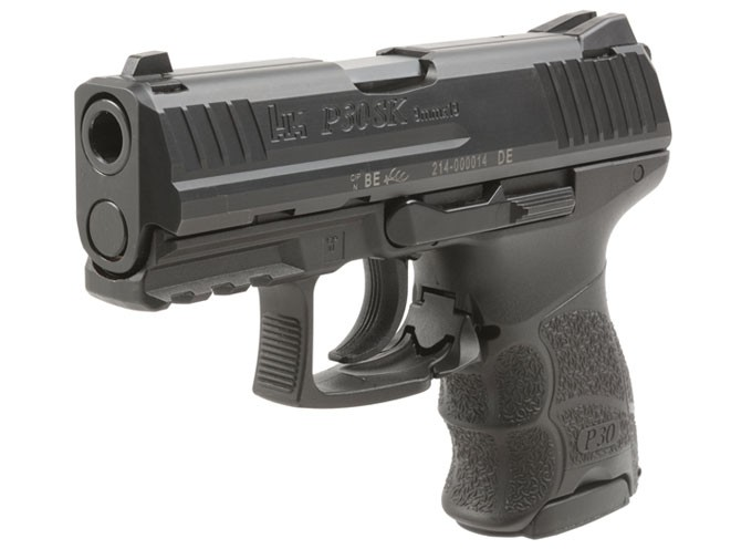 heckler & koch, heckler & koch p30sk, hk p30sk, p30sk, p30sk pistols