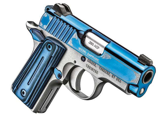 kimber, kimber pistols, kimber concealed carry, concealed carry, Kimber Micro Sapphire