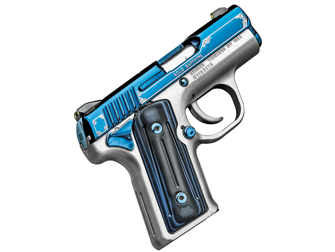 kimber, kimber pistols, kimber concealed carry, concealed carry, Kimber Solo Carry Sapphire