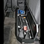 Tuffy Security Products Under Rear Seat Lockboxes, tuffy security products