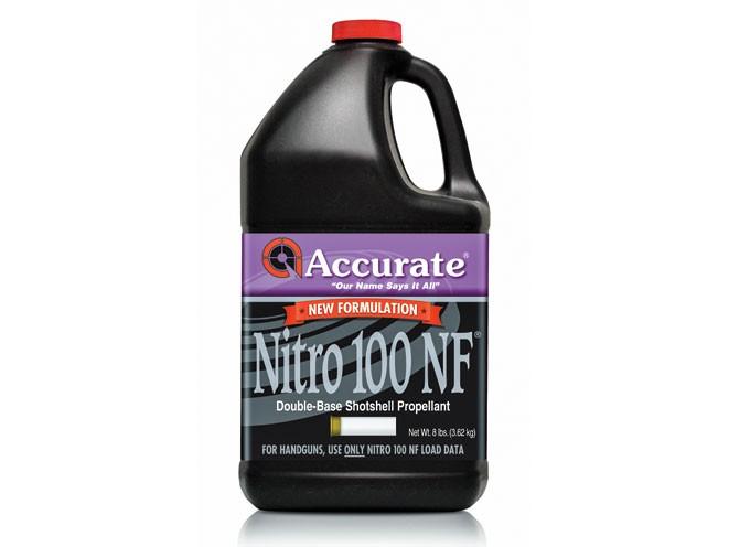 reloading powder, reloading powders, gun powder, gun powders, Accurate Nitro 100 NF