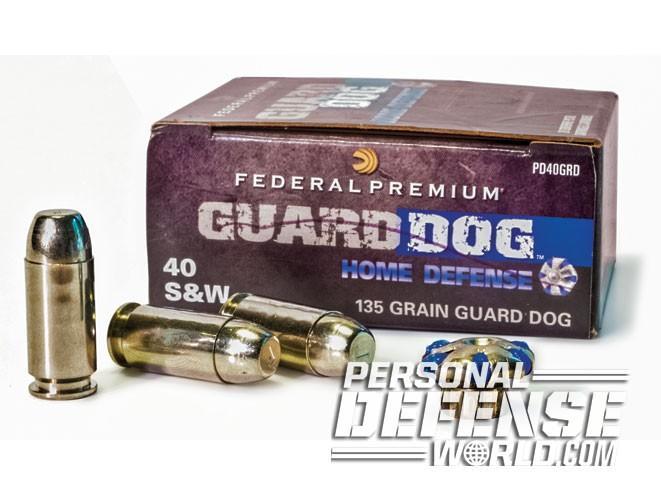 defensive handgun ammo, handgun ammo, ammo, ammunition, handgun ammunition, federal premium guard dog