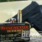defensive handgun ammo, handgun ammo, ammo, ammunition, handgun ammunition, winchester pdx1 ammo