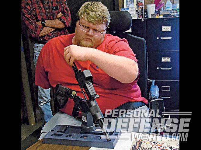 ar, ar pistol, ar guns, ar build, ar pistol build, how to build an ar pistol, ar gun build, present arms fixture ar pistol