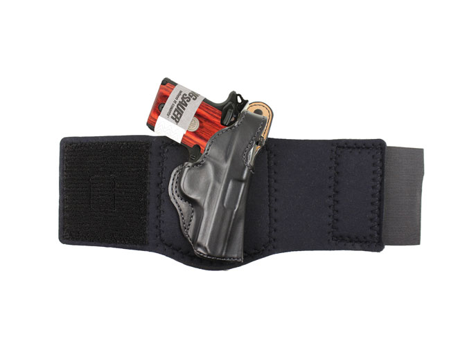 holster, holsters, concealed carry, concealed carry holster, concealed carry holsters, DeSantis #014 Die Hard Ankle Rig