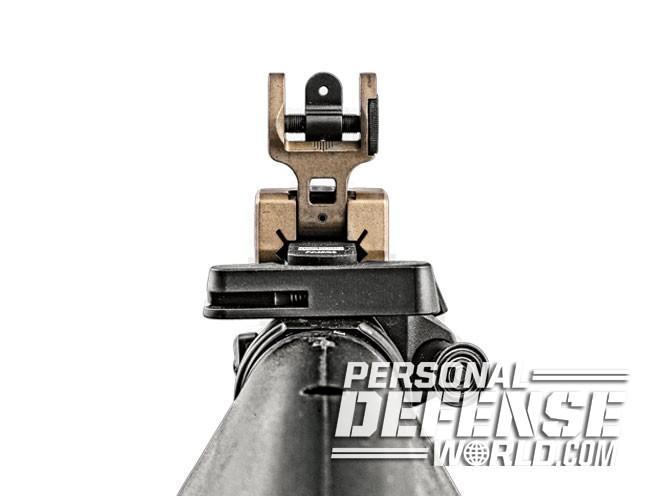 sight, sights, iron sight, iron sights, backup iron sight, backup iron sights, Emtan Karmiel LTD - Folding Rear Sight