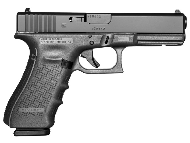 glock, glock pistol, glock pistols, glock handgun, glock handguns, glock 17 gen4