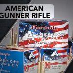 hornady, hornady ammo, hornady ammunition, hornady american gunner