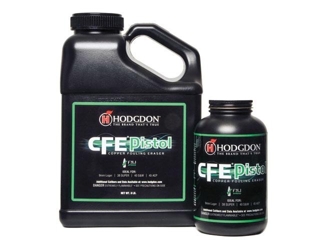 reloading powder, reloading powders, gun powder, gun powders, Hodgdon CFE Pistol
