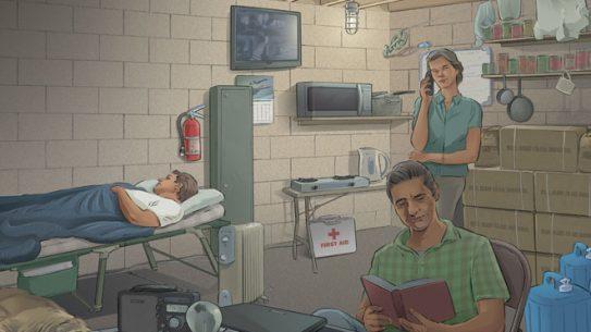 safe room, safe rooms, home defense safe room, defensive safe room