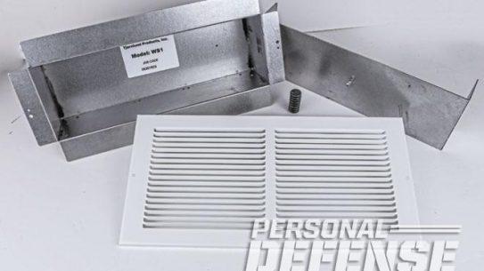 air vent, air vent wall safe, wall safe, wall safe tjernlund