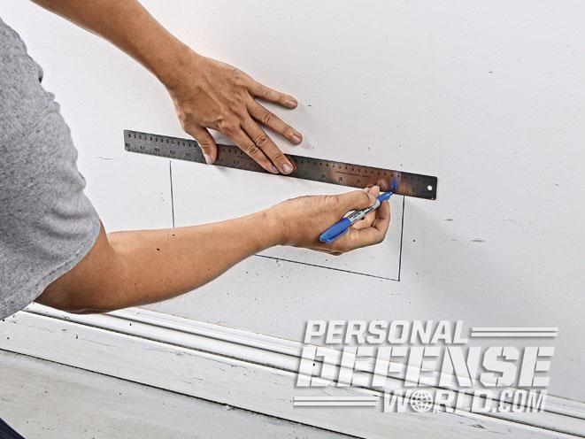 air vent, air vent wall safe, wall safe, wall safe marking
