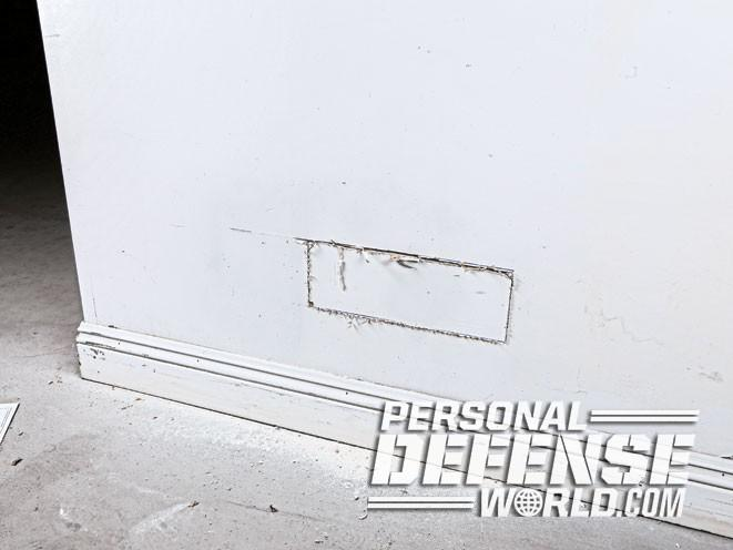 Air Wall Sawing : In plain sight installing an air vent wall safe