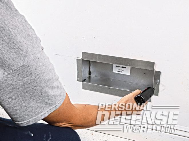 air vent, air vent wall safe, wall safe, wall safe install