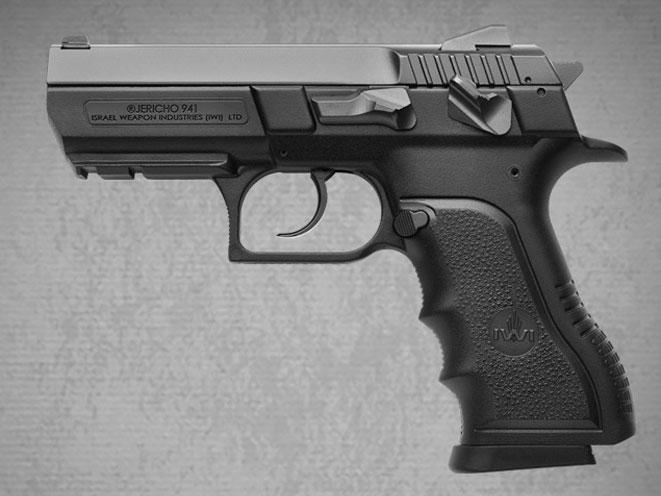 compact, compact carry, compact carry handgun, compact carry handguns, IWI Jericho PSL
