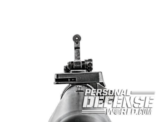 sight, sights, iron sight, iron sights, backup iron sight, backup iron sights, Knight's Armament - Micro Rear Sight 300m