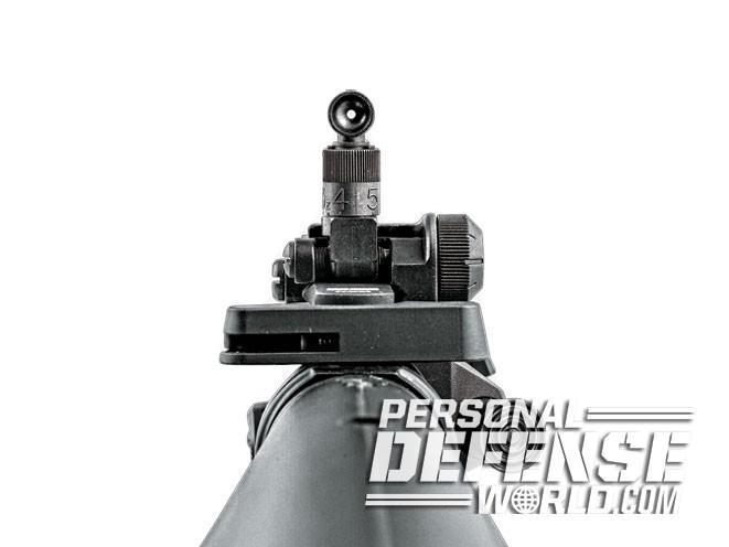 sight, sights, iron sight, iron sights, backup iron sight, backup iron sights, Knight's Armament - Micro Rear 200-600m