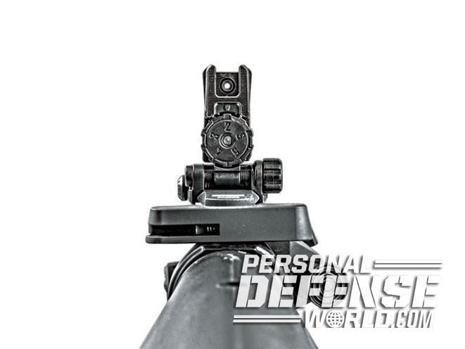 sight, sights, iron sight, iron sights, backup iron sight, backup iron sights, Magpul Industries - MBUS Pro LR Adjustable