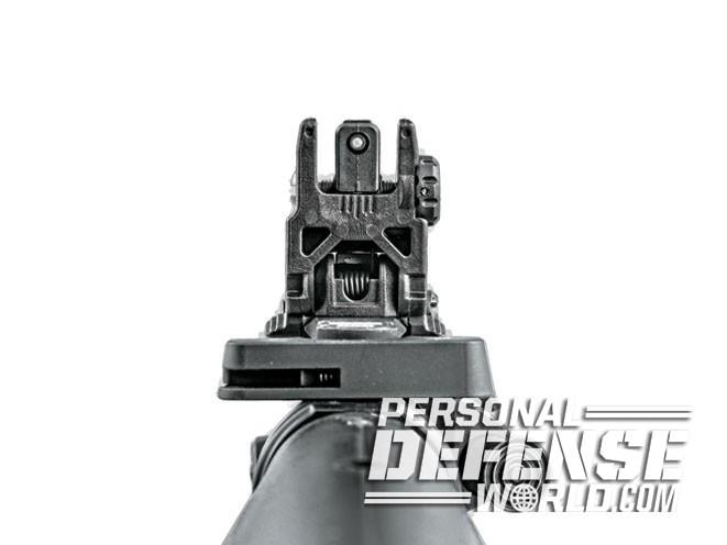 sight, sights, iron sight, iron sights, backup iron sight, backup iron sights, Magpul Industries - MBUS Rear Sight