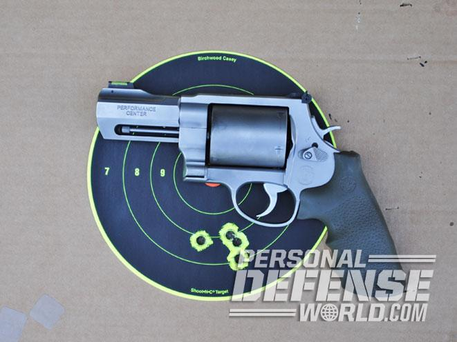 Smith & Wesson Performance Center 460XVR, performance center 460XVR, 460XVR, s&w 460XVR, 460XVR target