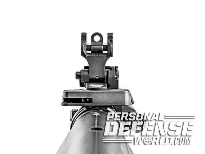 sight, sights, iron sight, iron sights, backup iron sight, backup iron sights, Troy - Tritium Folding Battlesight