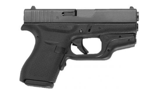 GLOCK 43, Glock, Crimson Trace LG-443, LG-443