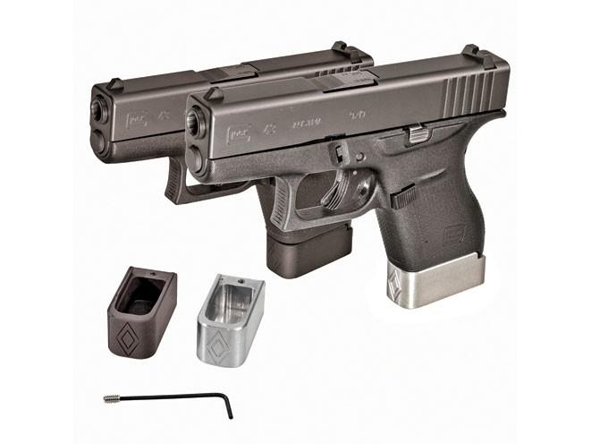 pocket pistols, pocket pistol, G43 Mag Extensions