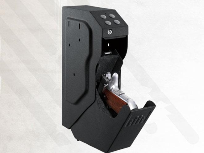 gun safe, gun safes, bedside gun safe, GunVault SpeedVault