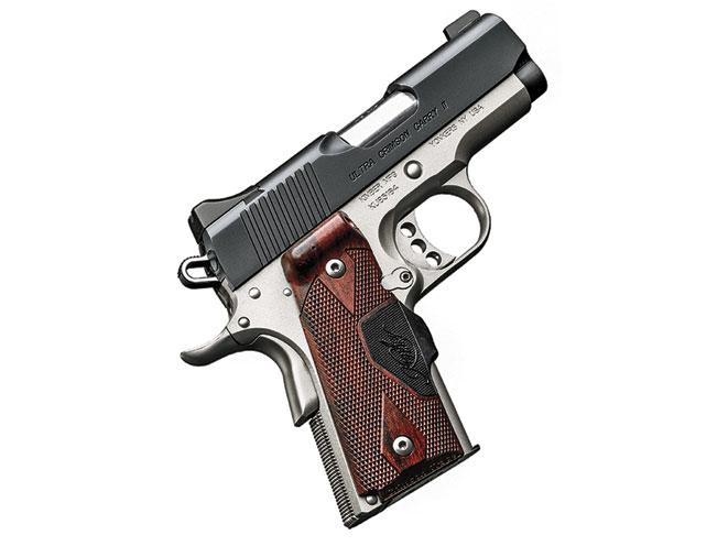 compact, compact carry, compact carry handgun, compact carry handguns, Kimber Ultra Crimson Carry II