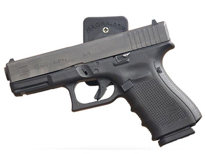 gun safe, gun safes, bedside gun safe, N82 Tactical magna arm gun magnet