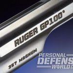 Ruger GP100 Match Champion, ruger, GP100 Match Champion, GP100 Match, Ruger GP100, GP100 Match champion marking