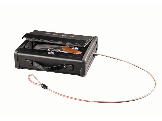gun safe, gun safes, bedside gun safe, SentrySafe Quick Access Pistol Safe