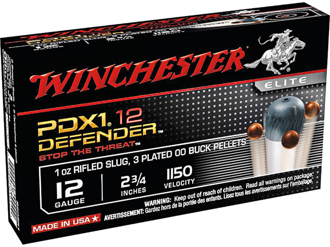 buckshot, buckshot loads, buckshot load, shotgun buckshot, Winchester PDX-1