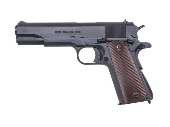 pistols, pistol, full-size pistol, full-size pistols, full-sized pistol, full-sized pistols, Auto Ordnance 1911 PKZSE .45 ACP