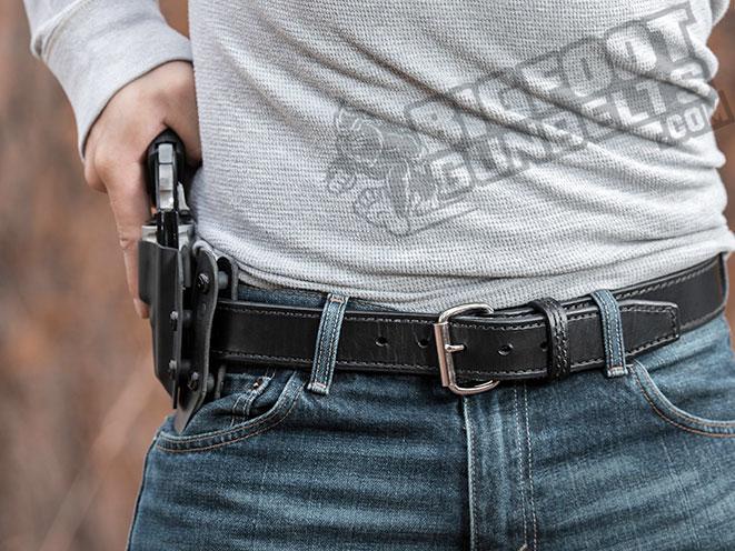 Bigfoot Gun Belts, gun belt, gun belts, bigfoot gun belt