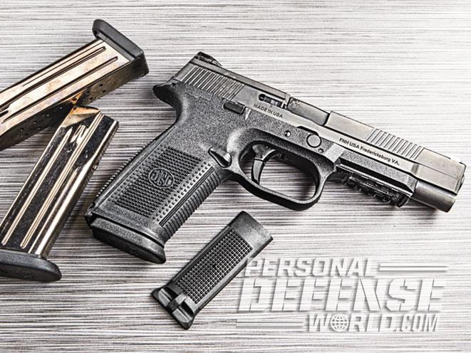 FNS-9 Longslide, FNS-9, FN, FNH USA, FNS-9 longslide pistol, FNS-9 longslide front sight, FNS-9 longslide magazines